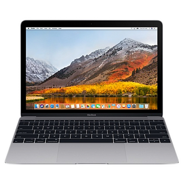 "MacBook 12"" Retina Core m3, 1.2GHz, Intel HD 615, 8GB, 256GB Flash - Серый космос"