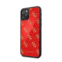 GUESS - DOUBLE LAYER GLITTER CASE - 4G - RED - 11/11Pro/11ProMax