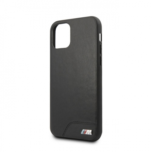 PC/TPU HARD CASE - SMOOTH PU LEATHER - BLACK - 11/11Pro/11ProMax
