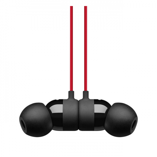 Наушники Beats urBeats3 Earphones 3.5mm Decade Collection Defiant Black/Red, чёрно-красные