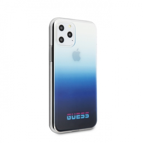 GUESS CALIFORNIA - PC/TPU CASE GRADIENT - BLUE - 11/11Pro/11ProMax